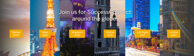 Join us for SuccessConnect around the globe!