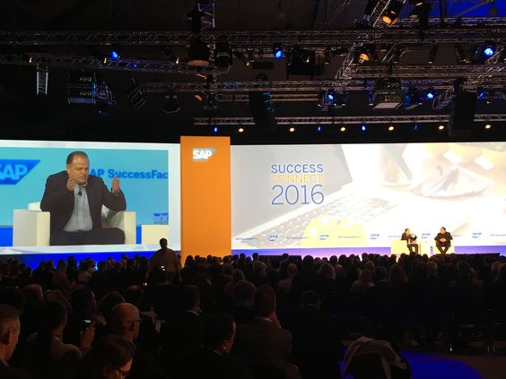 Main Stage SAP SuccessConnect 2016 Vienna