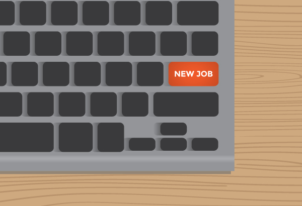 New Job (keyboard button)