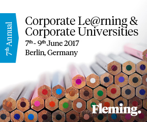 7th Annual Corporate Le@rning & Corporate Universities Summit, 7-9 June 2017, Berlin