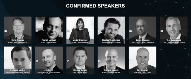 Confirmed Speakers | Transform with the Best