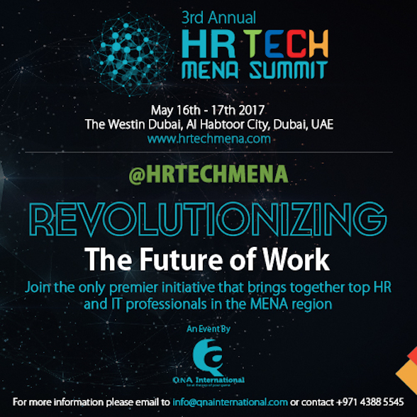 Annual HR Tech MENA Summit 2017 Main Image