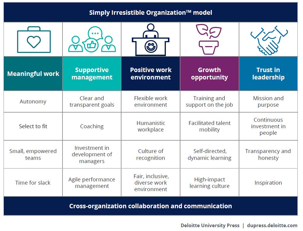 Simply Irresistible Organization Model
