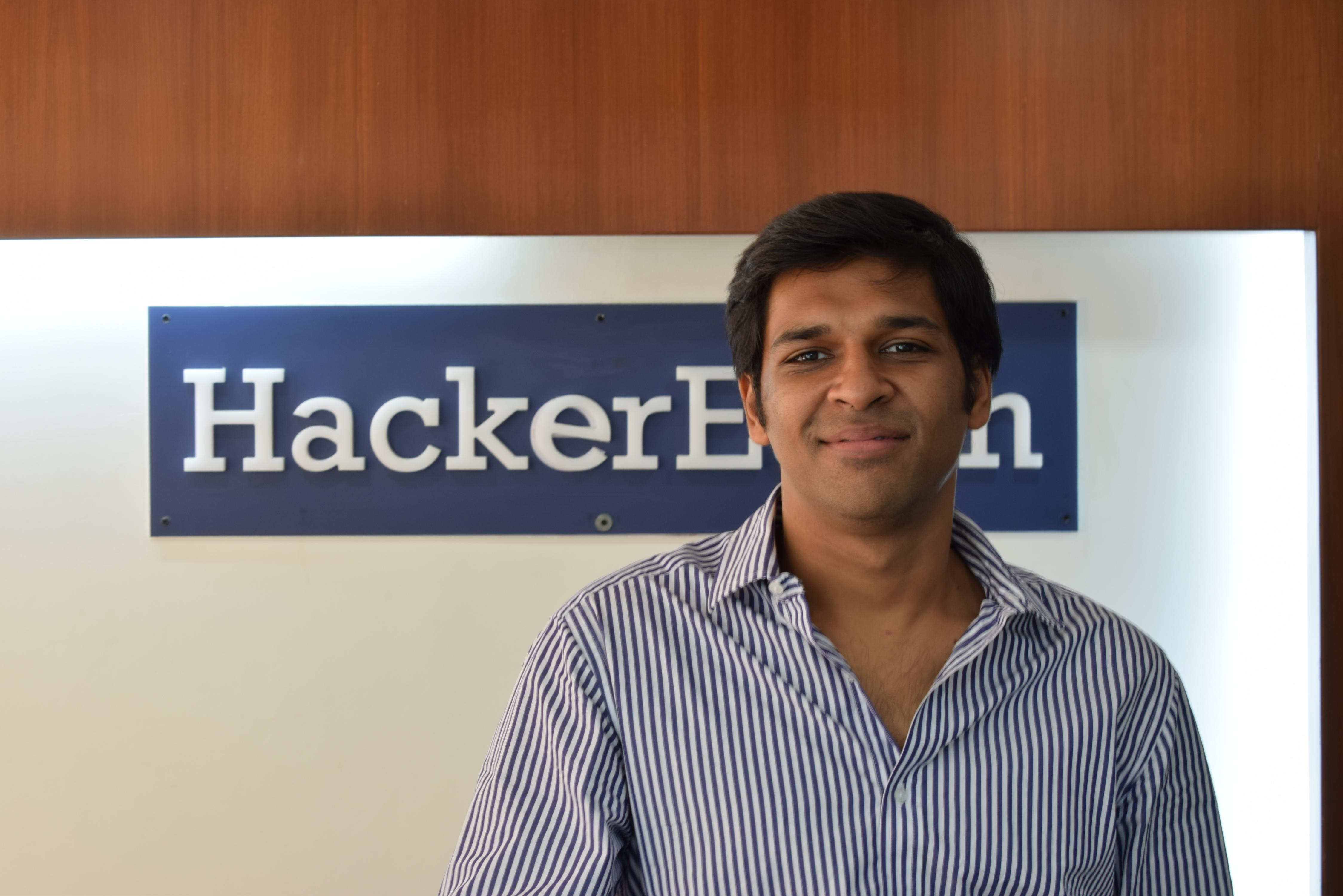 Sachin Gupta, CEO and Co-Founder, HackerEarth