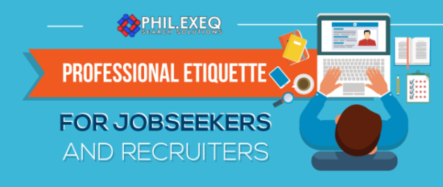 Professional Etiquette for Jobseekers and Recruiters | Main Image