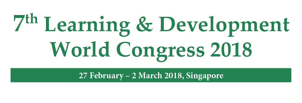 World's Leading L&D Platform - 7th Learning & Development World Congress 2018