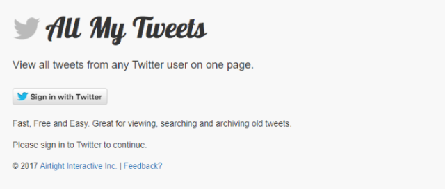 Find-email-address-All-my-tweets